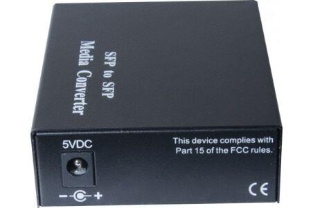 Convert. 2 ports fibre SFP Bi-Vitesse Multi-Monomode
