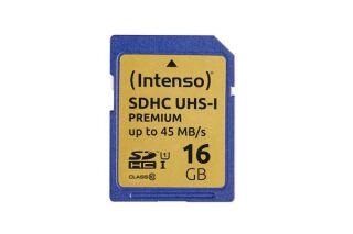 INTENSO Carte SDHC UHS-I Premium Class 10 - 16 Go