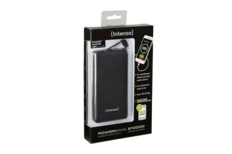 INTENSO PowerBank Slim S10000 Micro USB / USB -10000mAh Noir