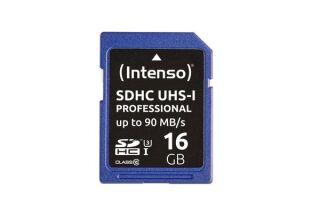 INTENSO Carte SDHC UHS-I Professional Class 10 - 16 Go