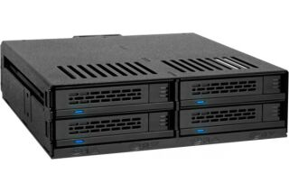 "ICY DOCK Backplane MB324SP-B 4 disques SATA/SAS 2""5"