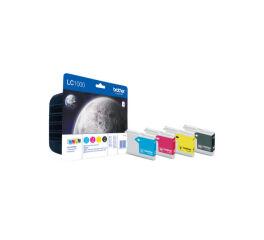 Pack cartouche BROTHER LC1000VALBP - Noir + 3 couleurs