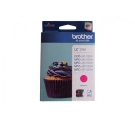 Cartouche BROTHER LC123M - Magenta