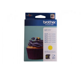 Cartouche BROTHER LC123Y - Yellow