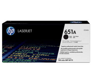 Toner HP 651A CE340A - Noir