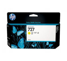 Cartouche HP B3P21A n°727 - Yellow