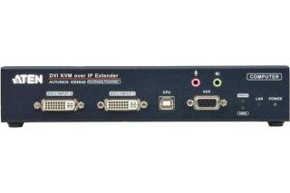 Aten PREMIUM KE6940T Prolongateur KVM Double DVI/USB IP - Emetteur