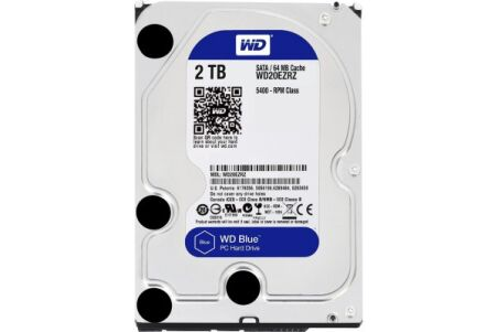 "DD 3.5"" SATA III WESTERN DIGITAL WD Blue - 2To"