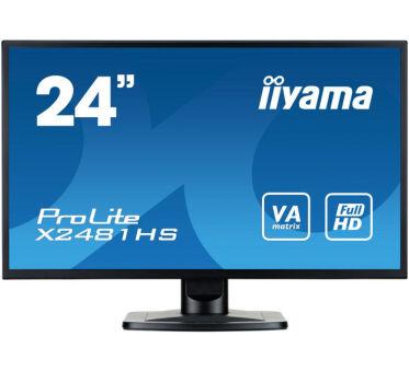 Ecran IIYAMA X2481HS-B1 VGA/DVI/HDMI + HP - 23.6''