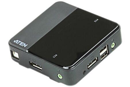 Aten CS782DP switch KVM 2 ports DisplayPort 4k/USB/Audio