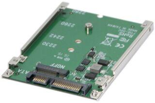"Adaptateur M.2 NGFF SSD vers SATA 2,5"""
