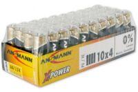 ANSMANN Piles alcalines industrielles 5015681 LR06 / AA 10 s
