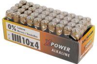 ANSMANN Piles alcalines industrielles 1521-0007 LR03 / AAA 1