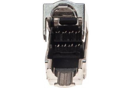 Connecteur terrain 8P8C RJ45 CAT6 stp