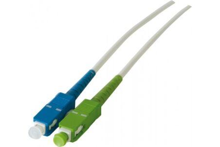 Jarretière optique simplex monomode OS2 9/125 SC-APC/SC-UPC