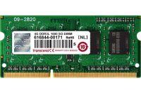 Mémoire TRANSCEND SODIMM 2Rx8 DDR3L PC3-12800/1600MHz 8Go