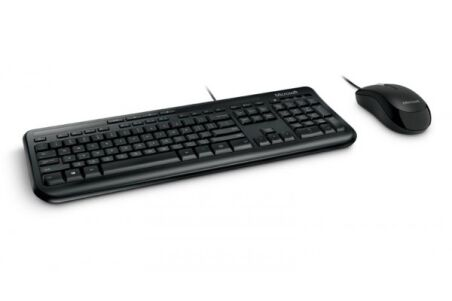 MICROSOFT Pack Clavier/Souris Wired Desktop 600 For Business