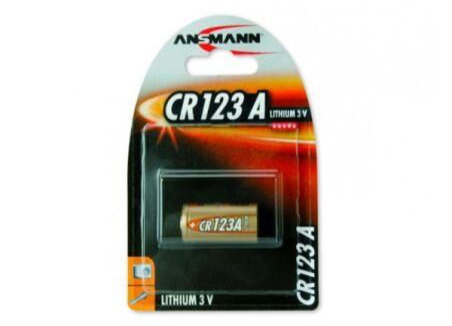 ANSMANN Piles lithium 5020012 CR123A blister de 1