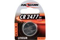 ANSMANN Piles lithium 1516-0010 CR2477 blister de 1