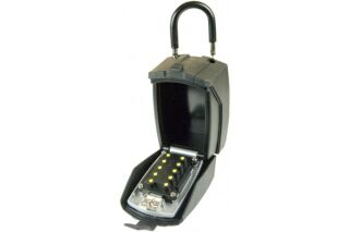 """Mini coffre """"garde clés"""" à code avec cache clavier - Spécial"""