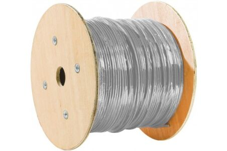 Cable multibrin CAT7 s/ftp pvc gris - 305 m