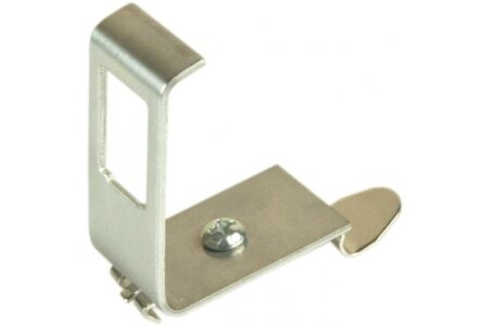 Support 1 port keystone pour rail DIN