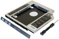 Tiroir lecteur CD ordinateur portable pour disque HDD/SSD 2.
