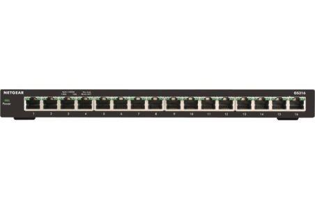 NETGEAR GS316 Switch 16P Gigabit Slim Métal
