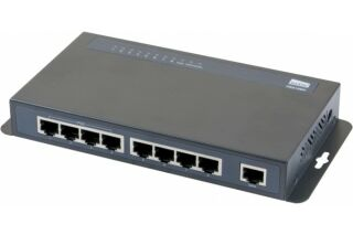 NETIS PE6109H Switch 9 ports 10/100 dont 4 PoE+ 60W et 1 up-