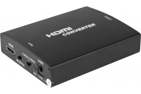 Convertisseur HDMI vers audio-vidéo analogique