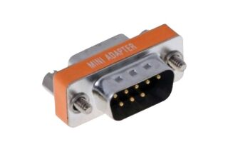 Mini adapt null-modem 9M/F