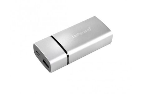 Intenso powerbank metal finish PM5200 mah - argent