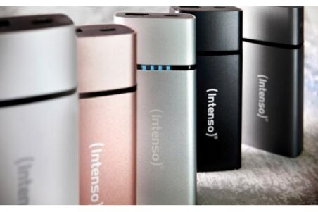 Intenso powerbank metal finish PM5200 mah - gris