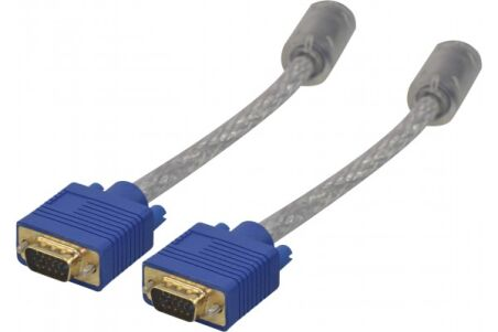 Cable svga or transparent HD15 mm - 10M