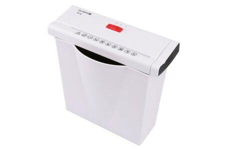 Destructeur documents 10 feuilles / 7 litres - blanc