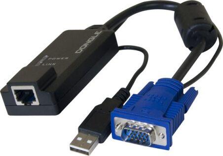 déport KVM VGA/USB sur RJ45 - 100M