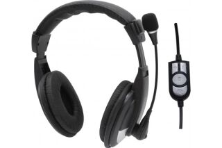 DACOMEX Casque-micro AH760-U stéréo USB