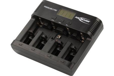 ANSMANN Chargeur de piles Powerline 5 Pro secteur et voiture