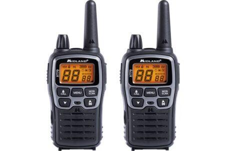 2 talkies Midland XT70 et accessoires