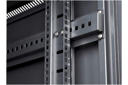Baie serveur 42U 600 x 1000 en kit (noir)