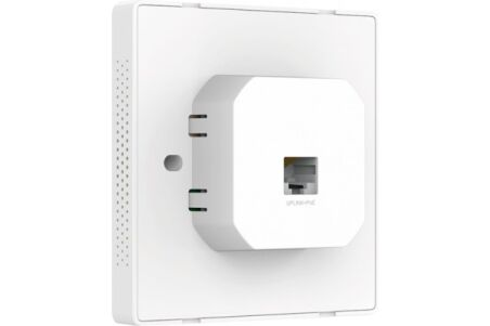 Tp-link EAP115-WALL plastron mural WiFi 300Mbps PoE actif