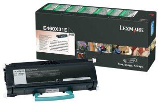 Toner LEXMARK E460X31E E460TR - Noir