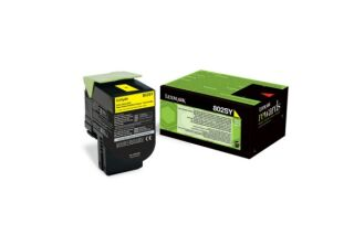 Toner LEXMARK 80C2SYE 800S4 - Yellow