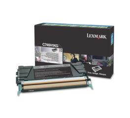Toner LEXMARK C746H1KG C746, C748 - Noir