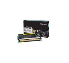 Toner LEXMARK X748H1YG X748 - Yellow