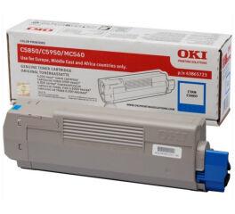 Toner OKI 43865723 C5850/5950 - Cyan
