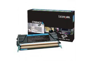 Toner LEXMARK C748H3CG C748 - Cyan