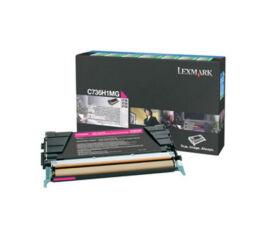 Toner LEXMARK C736H1MG C736,  X736,  X738 - Magenta
