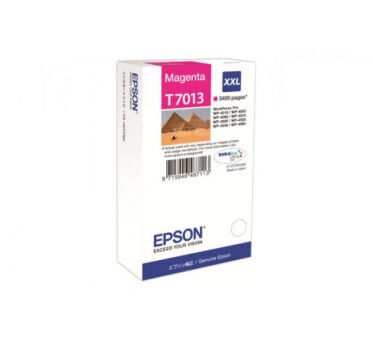 Cartouche EPSON C13T70134010 WP4000/4500 - Magenta