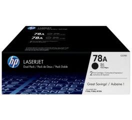 Pack de 2 Toner HP CE278AD n°78A - Noir